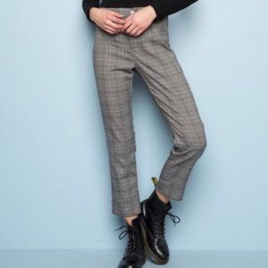 Brandy Grey Tilden Plaid Pants